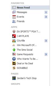 New FB Sidebar