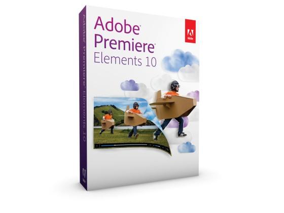 Adobe Premiere Elements 10 Box