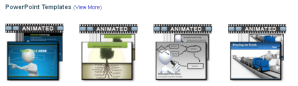 Example of Templates from PresenterMedia