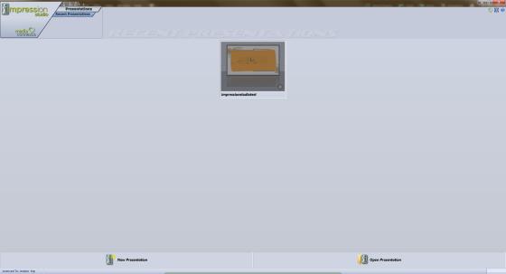 ImpressionStudioStartScreen