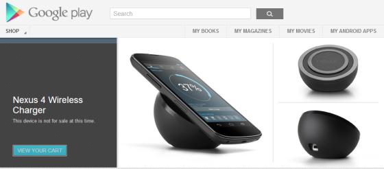 Nexus 4 Wireless Charger(Screenshot Credit: Jordan Yep/Jordan's Tech Stop)