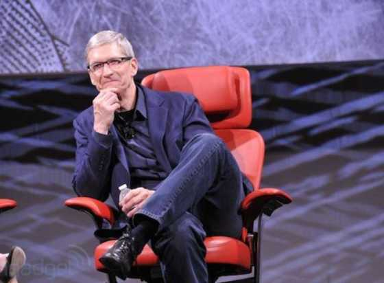 Apple CEO Tim Cook(Photo Credit: Engadget)