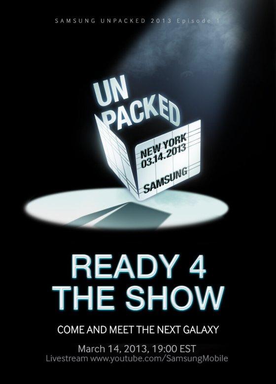 Samsung Galaxy S4 Invitation