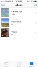 New photo app