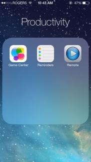New Folders Look