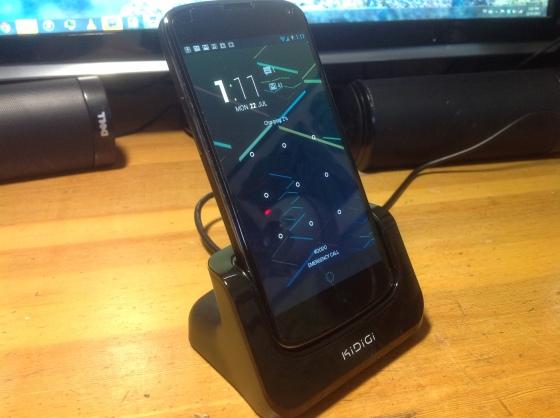 Cover-mate Nexus 4 Phone Dock (Photo Credit: Jordan's Tech Stop)