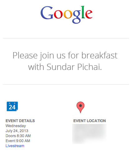 Google's Invite For Their July 24th Event (Image Credit: TechnoBuffalo)