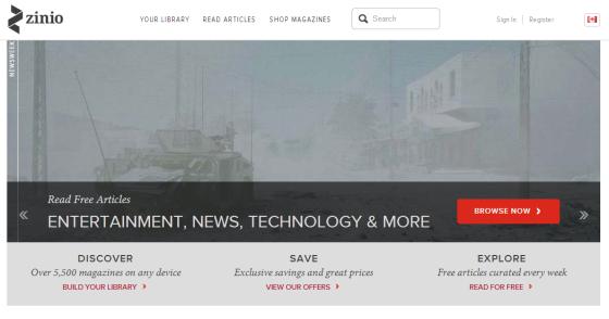 ziniowebsite