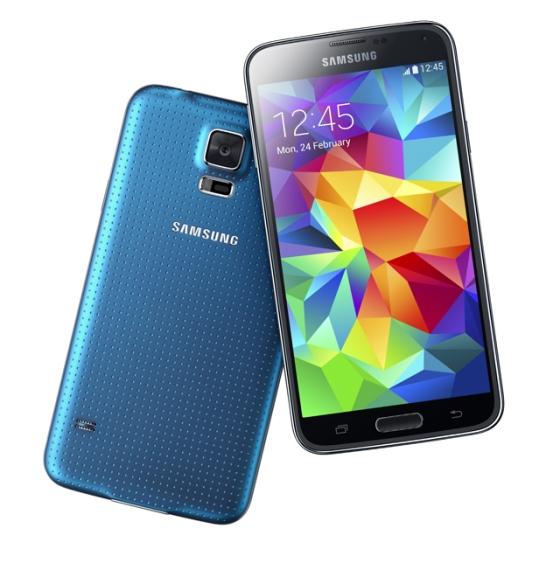 Samsung's Galaxy S5 (Image Credit: Samsung)