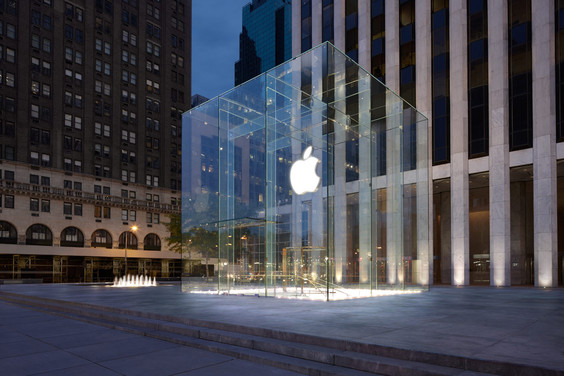 One of Apple's flagship stores in New York (Image Credit: Apple)