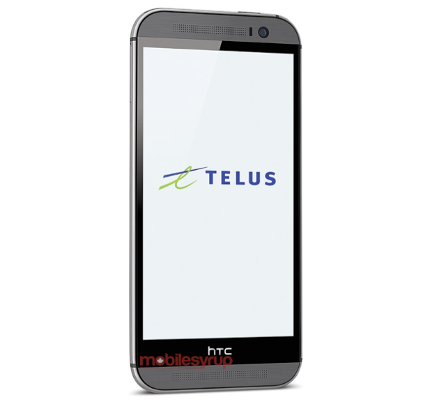 "The ""All New HTC One"" leaked in a press image by TELUS (Image Credit: MobileSyrup)"