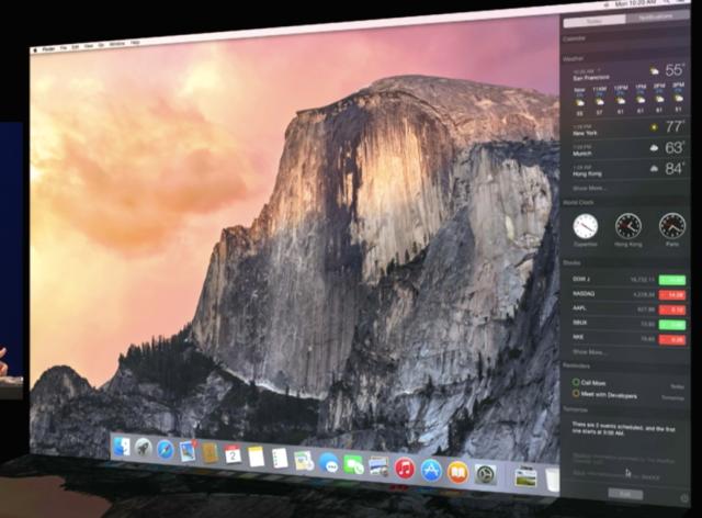 WWDC 2014 - Yosemite - Demo