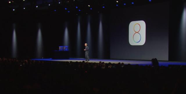WWDC 2014 - iOS 8TC